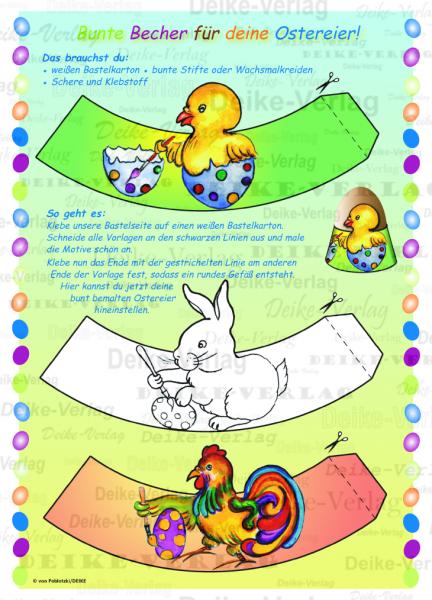 Basteln Eierbecher Für Ostereier Kinder Zielgruppe