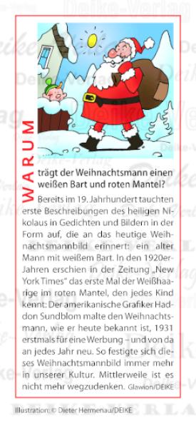 warum tr gt der weihnachtsmann einen wei en bart und roten. Black Bedroom Furniture Sets. Home Design Ideas